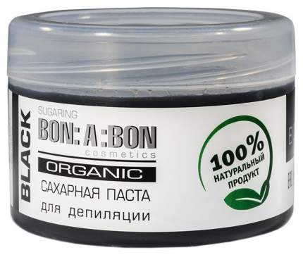 Паста для шугаринга Bon a bon Плотная Черная 400 г