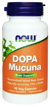 Добавка для памяти NOW Dopa Mucuna 90 капс. натуральный