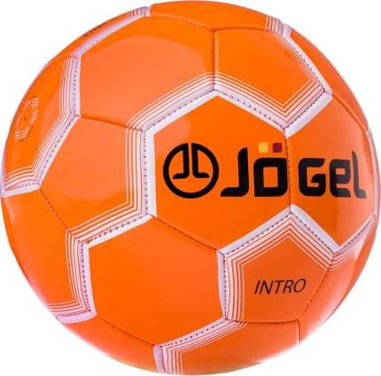 Футбольный мяч Jogel JS-100 Intro №5 orange