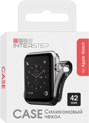 Чехол InterStep для Apple Watch 42mm Black (HWE-AWC42MSL-NP0001O-K100)