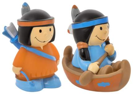 Набор игрушек-брызгалок для купания Курносики Индейцы 25161 2 шт в ассортименте