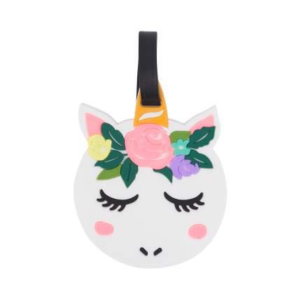 Бирка для багажа Kawaii Factory Flowery unicorn