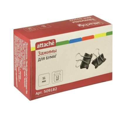 Зажимы для бумаг Attache Черные 32 мм