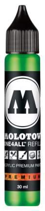 Заправка для маркеров Molotow GraFX Aqua MO693222 Зеленая 30 мл