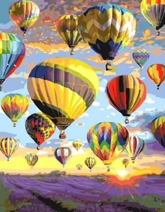 """Картина по номерам Paintboy """"Полёт над лавандовым полем"""", 40x50 см"""