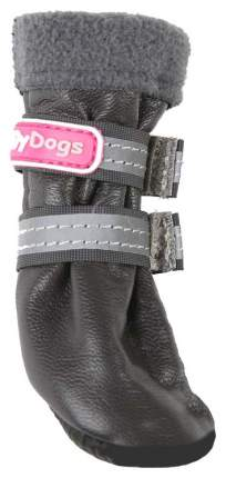 Сапоги для собак FOR MY DOGS, зимние, серые, FMD632-2018 Grey 1