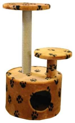 Комплекс для кошек Пушок Круглый со ступенькой в ассортименте