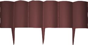 """Декоративные ограждения """"Каскад""""темн.коричневый,3м"""