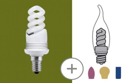 Энергосберегающая лампа 9 Вт E14 123 мм Под сменный плафон 87032