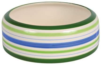 Миска для кроликов TRIXIE Ceramic Bowl L, керамическая, разнцоветная, 16 см, 500 мл
