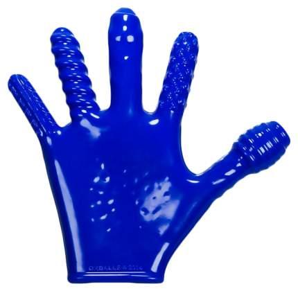 Перчатка для фистинга Oxballs Finger Fuck Glove Blue Os синий
