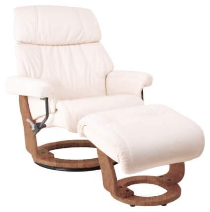 Кресло для гостиной Relax 104х89х104 см, коричневый/бежевый