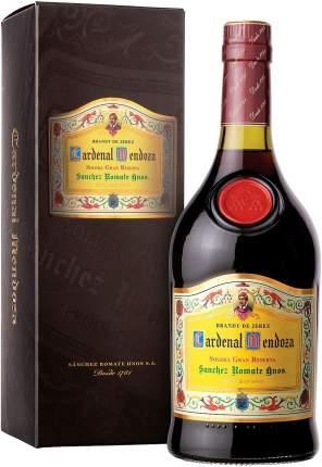 Бренди Sanchez Romate  Cardenal Mendoza Solera Gran Reserva gift box 0.7 л