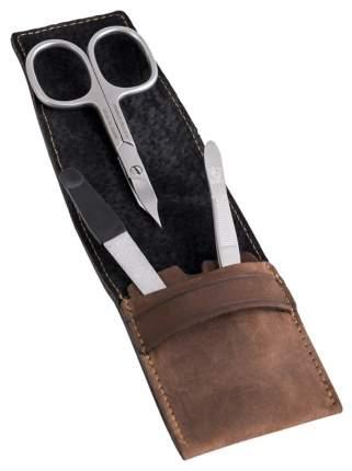Маникюрный набор Dovo Solingen 3 предмета, коричневый