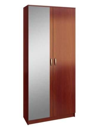 Платяной шкаф MFMaster Ольга (898) МСТ-ПДО-Ш2-ОИ-З2 89х35х200, орех итальянский