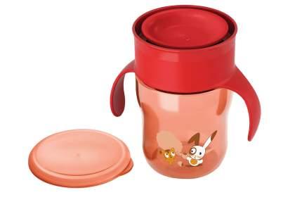 Взрослая чашка 260 мл 12 мес.+ Philips Avent красный/зеленый