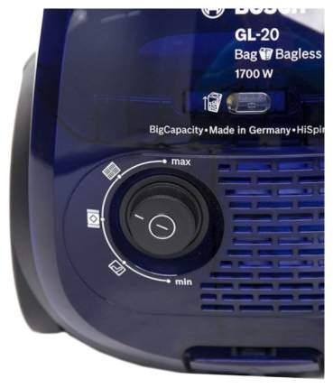 Пылесос Bosch  BGN21702 Blue