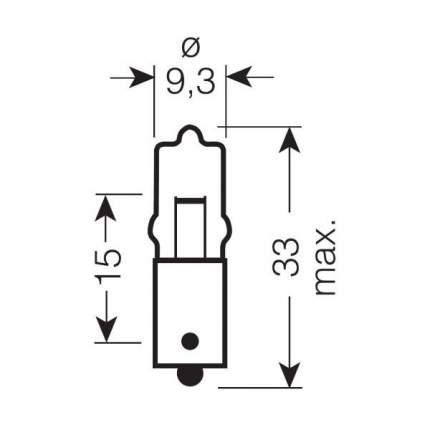 Лампа накаливания автомобильная OSRAM 10W (64113)