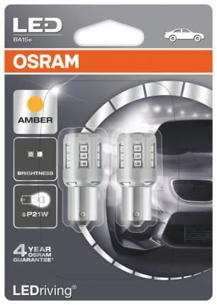 Лампа светодиодная автомобильная OSRAM 1W 12V BA15S (7456YE-02B)