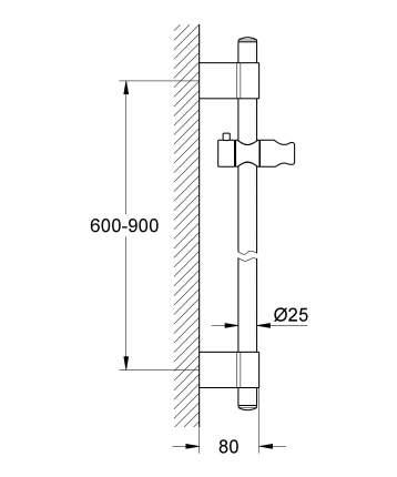 Душевые штанги Grohe 27785000