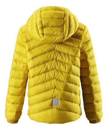 Куртка Reima пуховая для мальчика Falk желтая р.116
