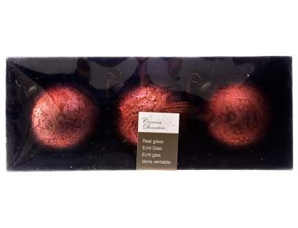 Набор елочных игрушек Kaemingk 069435 Бордовый