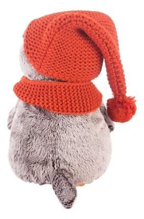 Мягкая игрушка BUDI BASA Ks19-075 Басик в Вязаной Шапке и Шарфе, 19 см