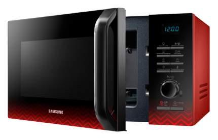 Микроволновая печь с грилем Samsung MG23H3115PR red