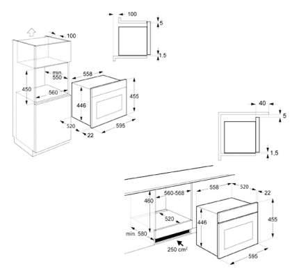 Встраиваемая микроволновая печь с грилем Teka Country MWR 32 BIA VB 40586036