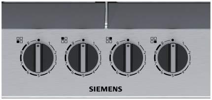 Встраиваемая варочная панель газовая Siemens EC6A5HC90R Silver