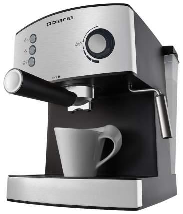 Рожковая кофеварка Polaris PCM 1520AE Adore Crema Silver