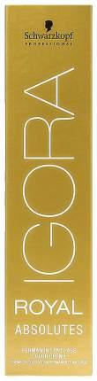 Краска Schwarzkopf Igora Absolute 7-60 Средний русый шоколадный натуральный 60 мл