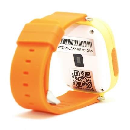 Детские смарт-часы Smart Baby Watch Q90 Yellow/Orange