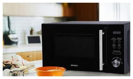Микроволновая печь соло AVEX MW-2071 B black