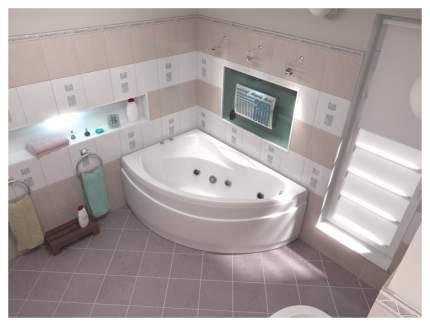 Акриловая ванна BAS Вектра 150х90 c гидромассажем FLAT