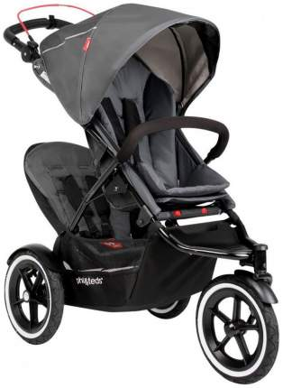 Сидение второго ребенка для коляски Phil and Teds Sport Graphite -серый