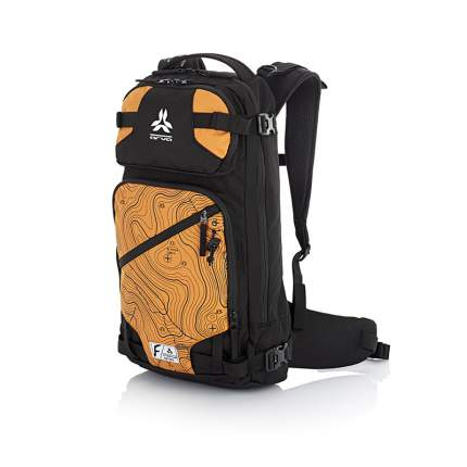 Рюкзак для лыж и сноуборда Arva Calgary, orange, 22 л
