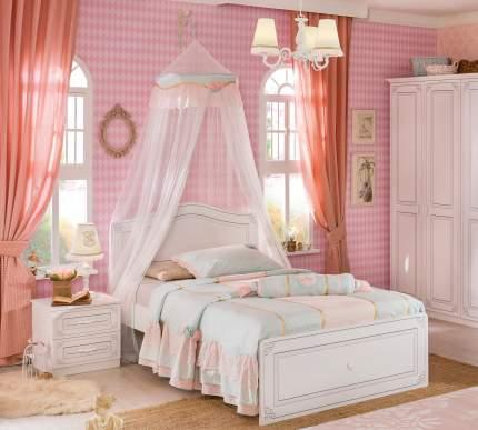 Кровать Cilek Selena XL 120х200 см, белый