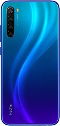 Смартфон Xiaomi Redmi Note 8 4+64Gb Neptune Blue EU (Global Version)
