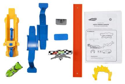 """Игровой набор Handers """"Авто-трюки: сальто"""" (длина 174 см, машина, пусковой механизм)"""