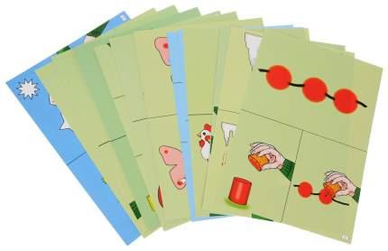 Изобразительная деятельность 2-3 лет Весна: 24 дидактические карты и 8 карт с шаблонами