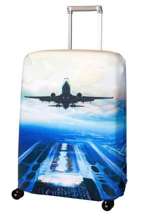 Чехол для чемодана Routemark Plane SP240 синий M/L