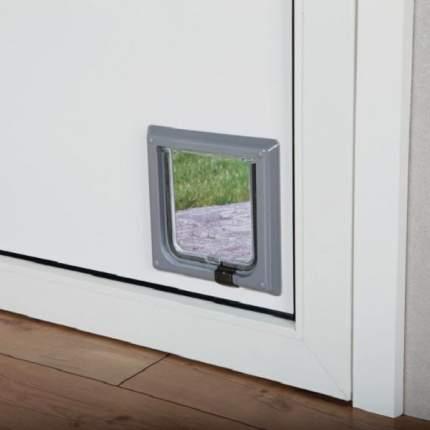 Дверца для кошек TRIXIE 14,7х15,8см серая