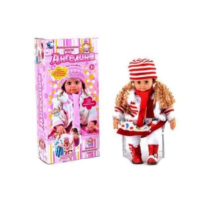 Интерактивная кукла Tongde Ангелина MY052
