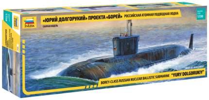Модели для сборки Звезда Подводная лодка Юрий Долгорукий 9061
