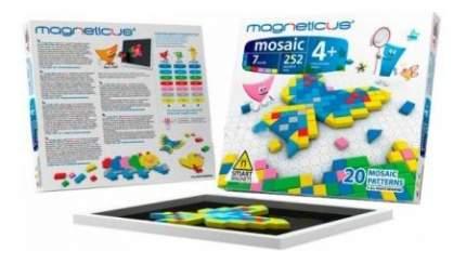 Мозаика Magneticus 4+, 252 элемента , 7 цветов, 20 этюдов