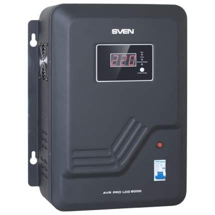 Однофазный стабилизатор Sven AVR PRO LCD 8000 20100143