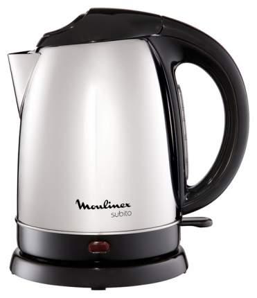 Чайник электрический Moulinex Subito Inox BY530F30 Black/Silver
