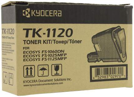Картридж для лазерного принтера Kyocera TK-1120, черный, оригинал