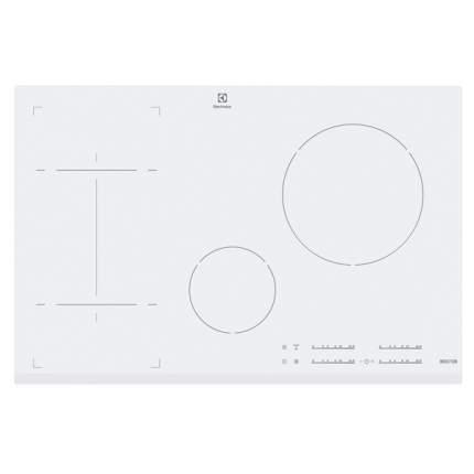 Встраиваемая варочная панель индукционная Electrolux EHI8543F9W White